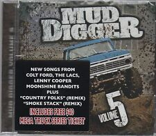 Mud Digger Vol. 5 The LACS  Colt Ford Standard American NEW Moonshine Bandits CD