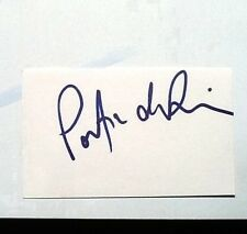 portia de rossi signed autograph 3x5 index card COA