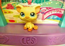 ~  SALE! ~  Littlest Pet Shop LPS YELLOW PIG FARM ANIMAL figurine figure toy