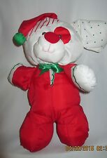 Puffalump Christmas Puppy Vintage Fisher Price 12 inch  1991