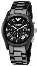 Emporio armani original VALENTE AR1400 chronograph mens ceramic watch