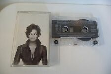 JANET JACKSON K7 AUDIO TAPE CASSETTE DESIGN OF A DECADE 1986/1996. BOITIER FENDU