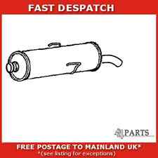 PG210M 4326 KLARIUS END SILENCER FOR PEUGEOT 205 1.9 1987-1994