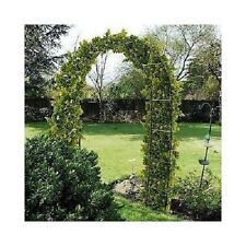 Black Steel Garden Arch, Trellis, Arbor, Wedding