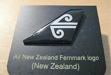AIR NEW ZEALAND AIRLINES AIRWAYS FENMARK LOGO TAIL PIN BADGE