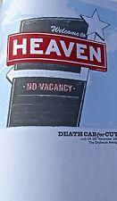 Death Cab for Cutie Poster Reprint 2005 Sacramento Cal Gig 14x10 Offset Litho