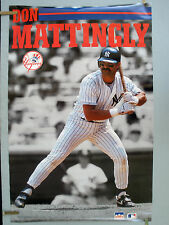 RARE DON MATTINGLY  NY YANKEES 1991 VINTAGE ORIGINAL STARLINE POSTER