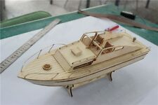 Sacle 1/50 Laser-cut Wooden boat Model kit: the Rivas yacht model