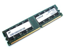 Crucial ct12864z40b pc3200u-30331 1GB DDR di memoria RAM, 400 MHz CL3 (DIMM 184-pin)