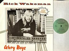 "RICK WAKEMAN (OF YES) glory boys 12 WAKE 1 uk tbg 1984 12"" PS EX/EX deletion"