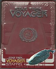 Star Trek Voyager Staffel 4 Hartbox Neu OVP Sealed Deutsche Ausgabe OOP Rar