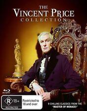 Vincent Price (Blu-ray, 2015, 8-Disc Set) (Region B) Aussie Release