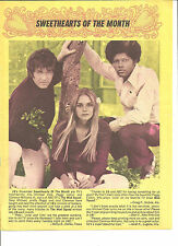 The Mod Squad, Michael Cole, Peggy Lipton, Clarence Williams, Full Page Clipping