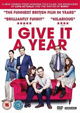 I Give It a Year (2013) Rose Byrne, Rafe Spall, Stephen Merchant NEW UK R-2 DVD