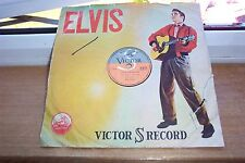 ELVIS PRESLEY 78 RPM  PICTURE SLEEVE JAPAN VICTOR S-273 I LOVE YOU BECAUSE