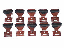 NOS Ford Lincoln Mercury Windshield Rear Window Molding Moulding Trim Clips 10pc