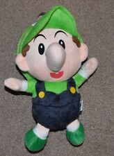 NWOT Baby Luigi Mario Bros San-ei Plush Toy Stuffed Animal 6'' NES