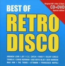 Amanda Lear Joy Fancy C.C. Catch./Best Of Retro Disco Italo neu ovp 2015 DVD+/CD