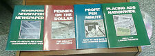 NEWSPAPERS! Pennies, PROFIT, ADS NATIONWIDE ('92, Paperback) 4 Books To PROFIT