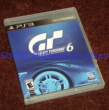 Gran Turismo 6 (PlayStation 3) *BRAND NEW & SEALED* Online Multiplayer GT6 grand
