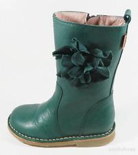 Petasil Girls Carina Aqua Green Leather Boots UK 7 EU 24 US 7.5 0952