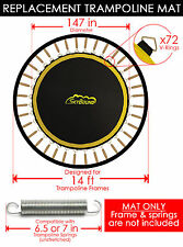 "SkyBound Premium 147"" Trampoline Mat w/ 72 V-Rings for Orbounder - OR1413B"