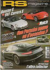 RS MAGAZINE 139 PORSCHE 981 CAYMAN 991 CLUB COUPE 991 C4S 996 C4S 908 944 TURBO