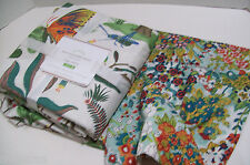 Pottery Barn Evie Reversible Butterfly Mini Floral King Duvet Cover 2 King Shams
