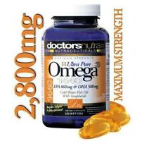 2,800MG Ultra Pure Omega 3 Fish Oil HIGHEST AMOUNT ON EBAY! - Buy It Now