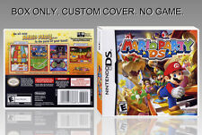 NINTENDO DS : MARIO PARTY DS. ENGLISH. COVER CUSTOM + ORIGINAL BOX. (NO GAME).