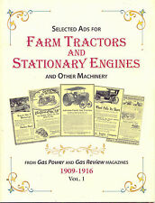 Selected Ads for Farm Tractors and Stationary Engine and Other Machinery