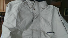 Fishing NEW MERCURY TAN HOODED & lined JACKET...Adult size 2xl size