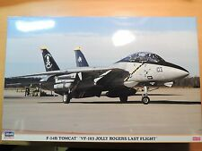 Hasegawa 1/48 F-14B TOMCAT  `VF-103 JOLLY ROGERS LAST FLIGHT' (09677)