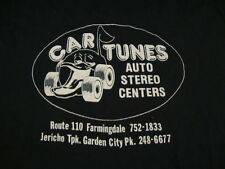 Vintage 80's Original Sleeveless Car Tunes Auto Stereo Centers Repair T Shirt S