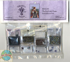 Cross Stitch ~ Mirabilia Embellishment Pack for The Red Lady Pirate #MD113E