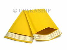 50 #0 6.5x10 KRAFT BUBBLE MAILERS PADDED ENVELOPES X WIDE for DVD