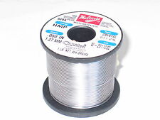 """Multicore HMP High Melting Point Solder Crystal 511 2% .050"""" 1.27mm 1Lb Roll New"""