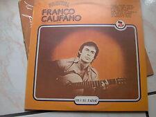"""LP 12"""" FRANCO CALIFANO RECITAL RECORD BAZAAR EX/N-MINT"""