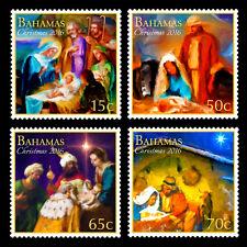 Bahamas 2016 Christmas 4v set MNH