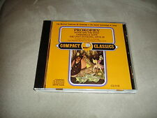 Prokofiev Peter And The Wolf Cinderella Suite The Ugly Duckling Opus 18 CD 519