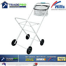 Laundry Trolley Hills® Deluxe Panache with Peg Basket Foldable Clothes Washing