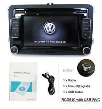 VW RCD510,Autoradio,CD,IPOD.MP3, RVC,Media-IN,USB Kabel für Passat Golf, Polo,CC