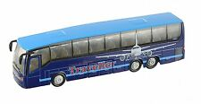 TEAMSTERS CITY COACH BLUE TRAVELLER TOY VEHICLE 1.50 Scale KIDS BUS TO AIRPORT