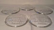 HARLEY 5-SET CYCLERAY LENS GLASS GUIDE HEAD LAMP LIGHT KNUCKLEHEAD UL  WL 45 FL