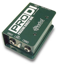 Radial ProDI Passive Direct Box for Stage and Studio