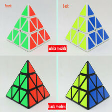 2016 Pyraminx Triangle Gift Speed cube Plastic Magic Stickerless Educational toy