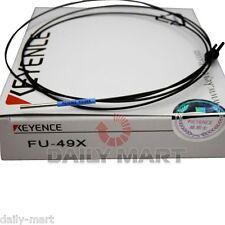 KEYENCE Digital Fiber Optic Sensor FU-49X FU49X New in Box NIB Free Shipping