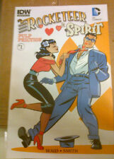 """ROCKETEER/THE SPIRIT: PULP FRICTION #1 Sub Cvr""""Bettie"""" Based On Bettie Page 2013"""
