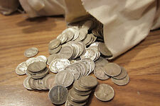 Survival Money 1916-1945 Mercury Dimes 90% Silver Circulated Currency Lot of 50