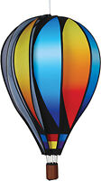 "Hot Air Balloon Style Hanging Spinner 26"" Sunset Gradient 25761"